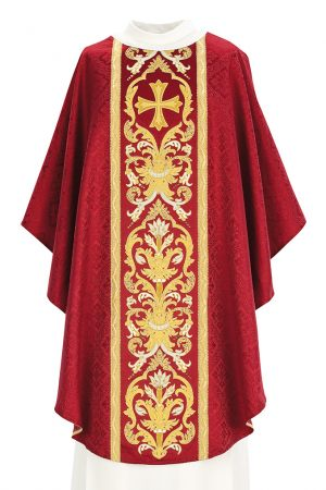 red-vestment
