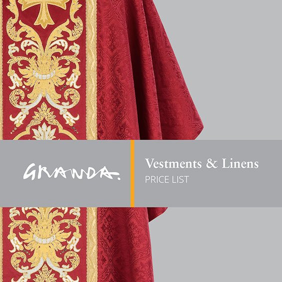 Vestments & Linens Price List